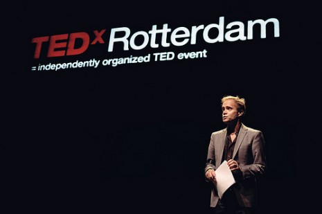 TEDx Rotterdam 2011 – Sound design for all video-presentations