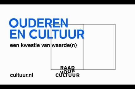 Music & Sound for Raad voor Cultuur – Ouderen en cultuur: kwestie van waarde(n)