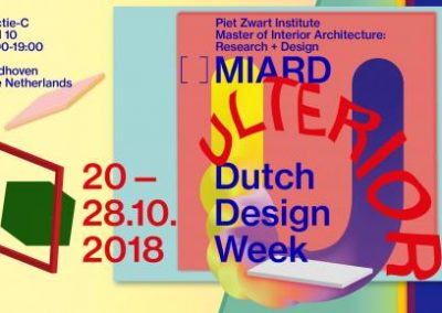 Sound for videos Ulterior – Piet Zwart Institute, MIARD | Dutch Design Week