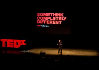 TEDx Rotterdam 2010 – Sound design for all video-presentations