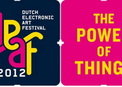 Sound Design for the DEAF 2012 the power of things
