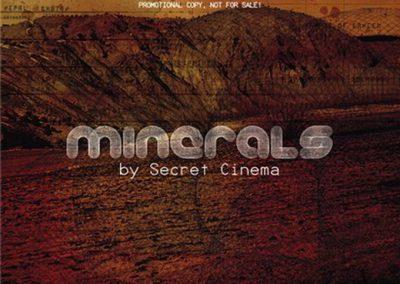 Secret Cinema feat. Mental Youth / Minerals 2cd (GEMCD002)