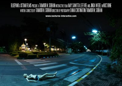 Soundscapes used in Nocturne an Interactive Movie