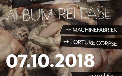Torture Corpse Live @ ALBATREALBATRE »»»» New ALBUM release & Machinefabriek + Torture Corpse